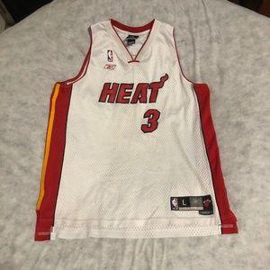 Dwyane Wade Miami Heat Swingman Jersey Reebok NBA